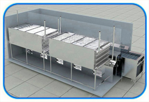 iqf freezer for leafy vegetables